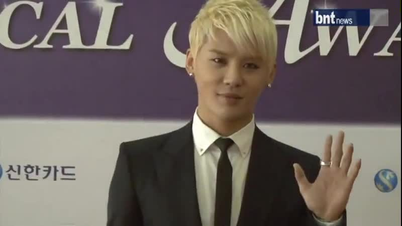 120604 BNT News 2012 Korean Musical Awards Red Carpet Kim Junsu