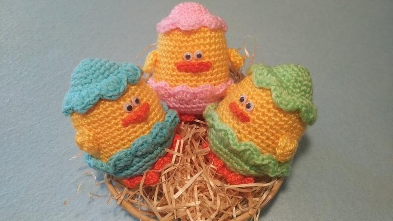 Pulcino Uncinetto Amigurumi Tutorial 🐣 Chick Crochet Duck Crochet Pato Crochet Pollito Croche