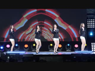 181025 Brave Girls - High Heels Easily Rollin' (New Ver.) KFN K-Force Special Show / Consolation Train
