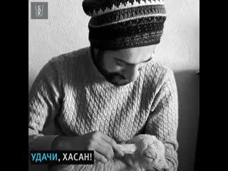Парень из Турции спасает животных