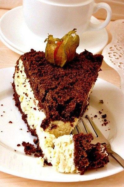 """""""Шоколадно-творожный пирог"""""""