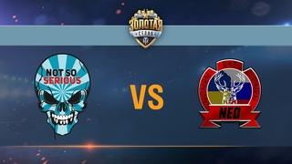 Not So Serious vs Nomen Est Omen - day 2 week 6 Season II Gold Series WGL RU 2016/17
