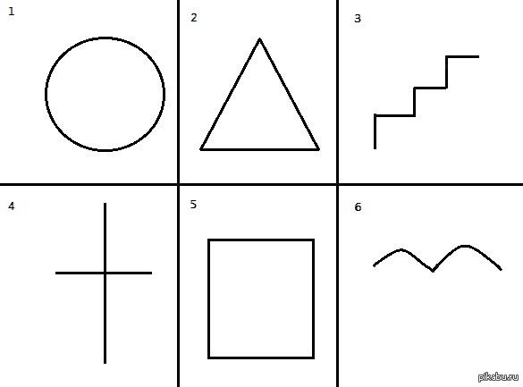 Картинки тест для рисования