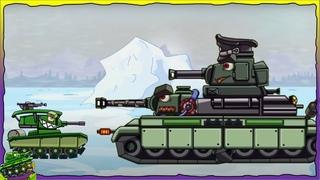 Game bắn xe tăng quái vật Ký sinh trùng - Leviathan Dora Kv-6 Patte #5   Phim hoạt hình về xe tăng